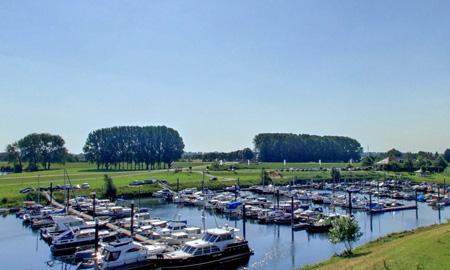 Ligplaatsen jachthaven bij Utrecht